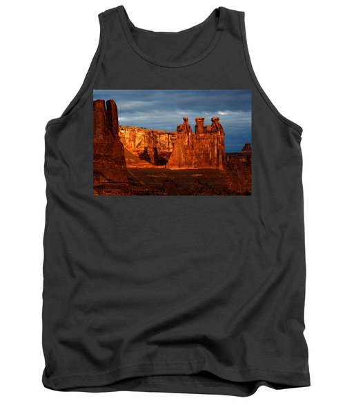 Tank Top featuring the photograph Three Gossips by Harry Spitz