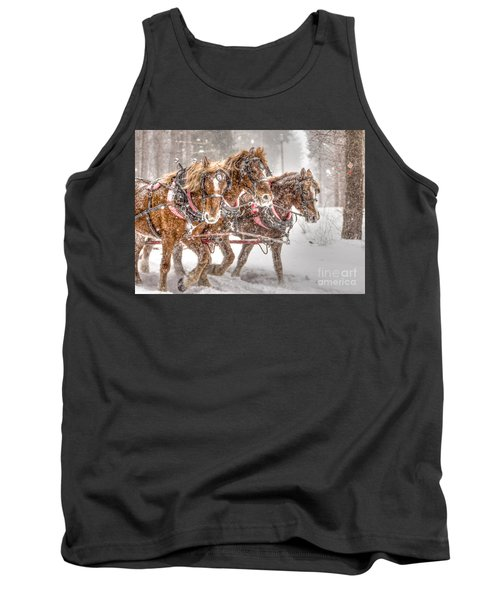 Three Horses - Color Tank Top