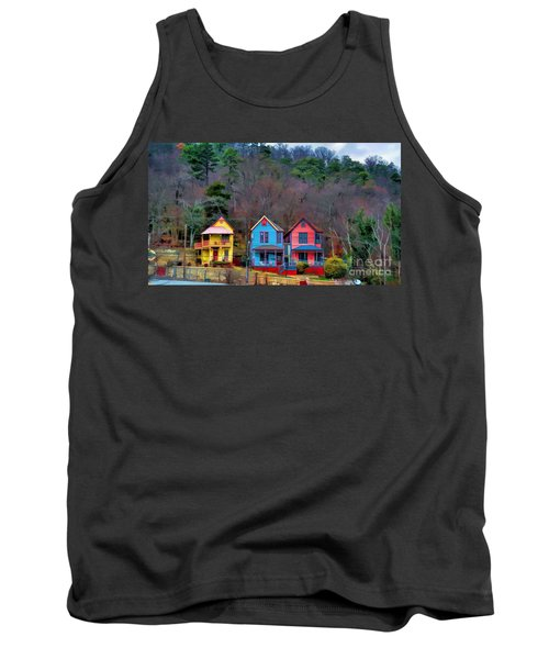 Three Houses Hot Springs Ar Tank Top