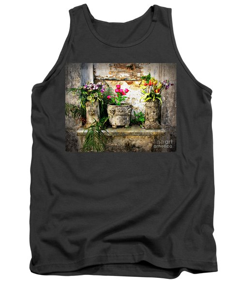 Three Vases Tank Top by Perry Webster
