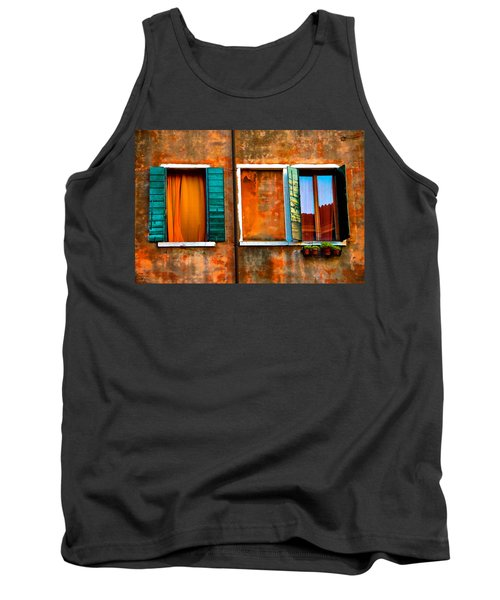 Three Windows Tank Top by Harry Spitz