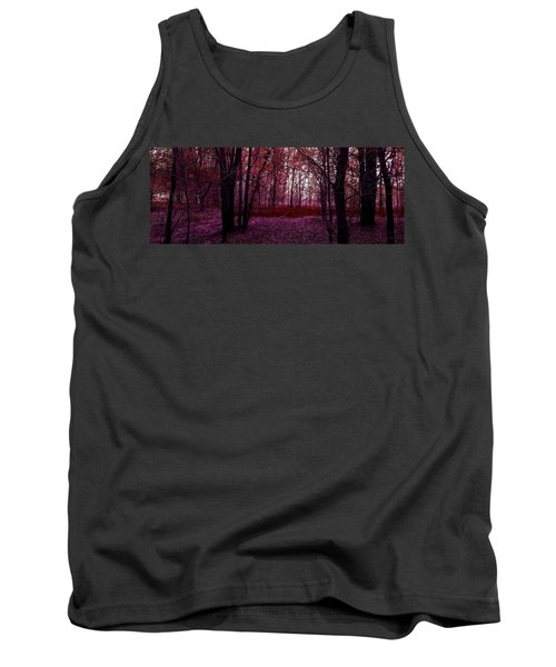 Through A Forest Tank Top by Michele Carter