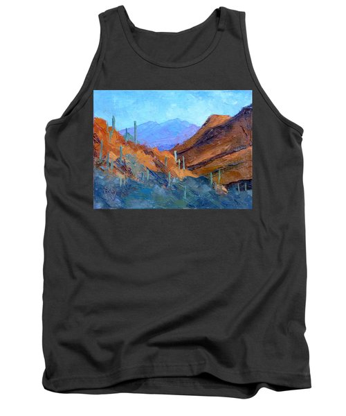 Through Gates Pass Tank Top