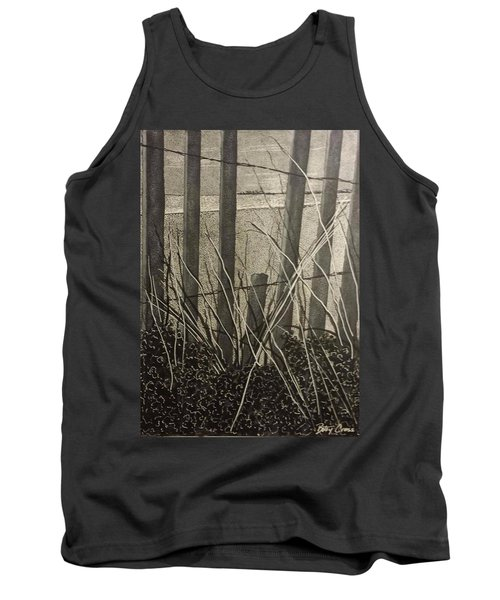 Through The Beach Fence Tank Top