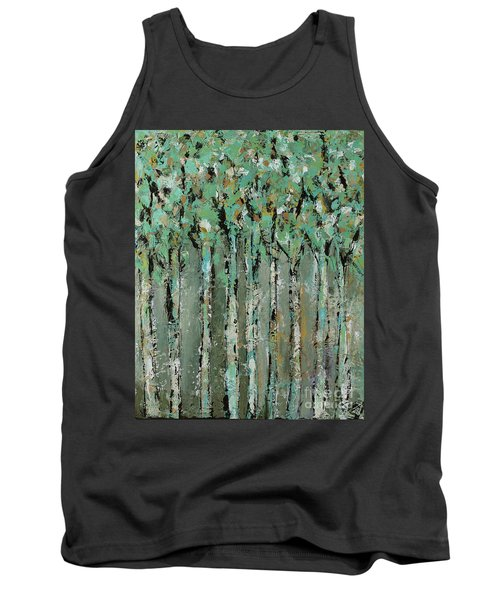 Through The Forest Tank Top by Kirsten Reed