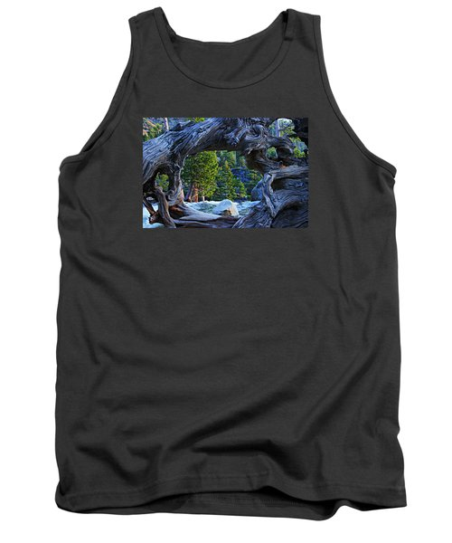Through The Looking Glass Tank Top by Sean Sarsfield
