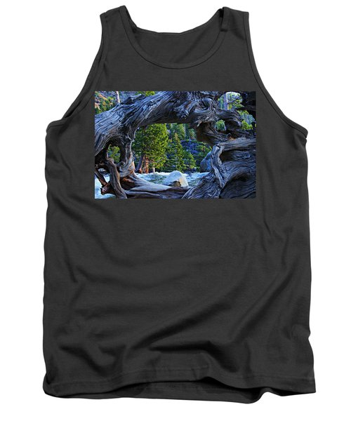 Through The Looking Glass Tank Top