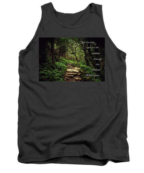 Tank Top featuring the photograph Through The Shadows by Jessica Brawley