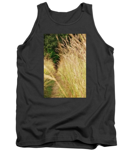 Tank Top featuring the photograph Through The Tall Grass by Nikki McInnes