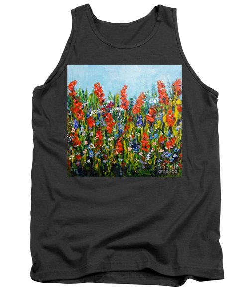 Through The Wild Flowers Tank Top