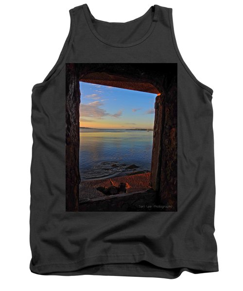 Through The Window Tank Top