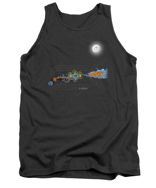Thunder Gun Of The Dead Tank Top by Iowan Stone-Flowers