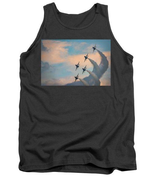 Tank Top featuring the photograph Thunderbirds by Rick Berk