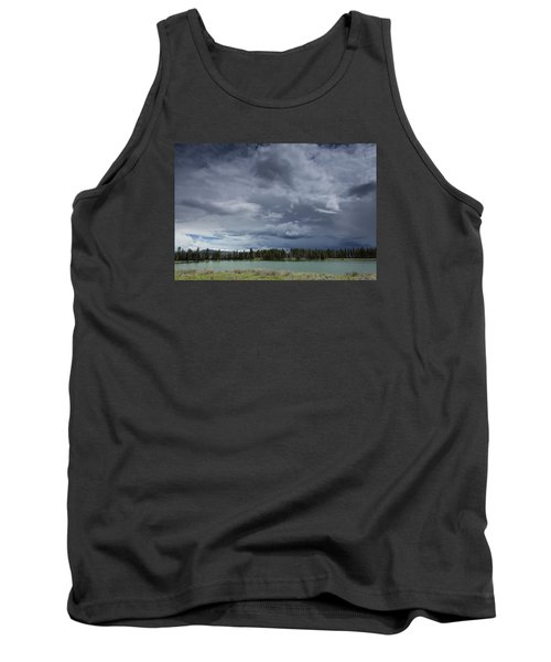 Thunderstorm Over Indian Pond Tank Top