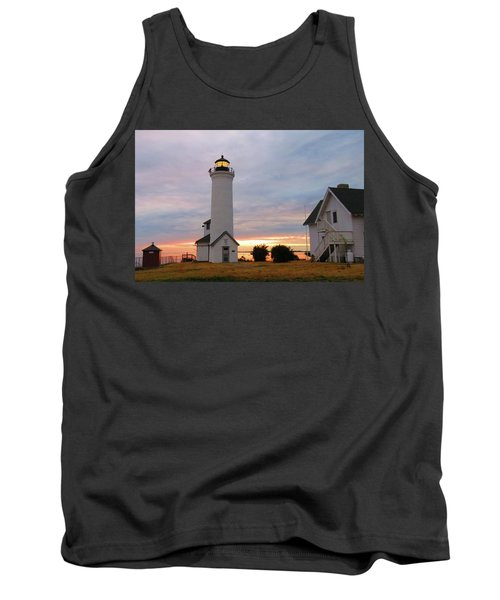 Tibbetts Point Lighthouse, July Sunset Tank Top