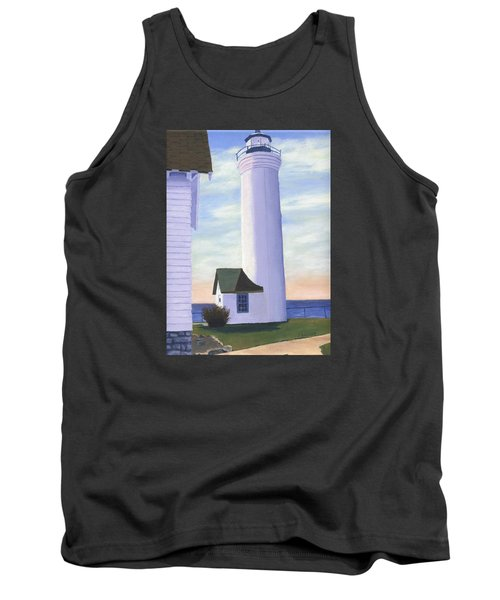 Tank Top featuring the painting Tibbett's Point by Lynne Reichhart