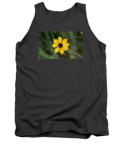 Tickseed Flower Tank Top by Kenneth Albin