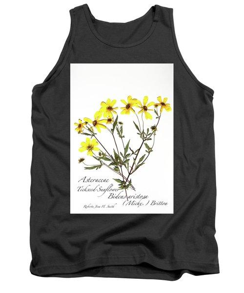 Tickseed Sunflower Tank Top