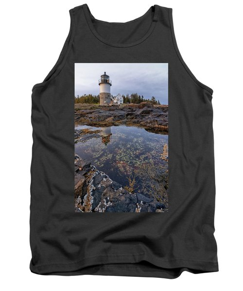 Tide Pools At Marshall Point Lighthouse Tank Top
