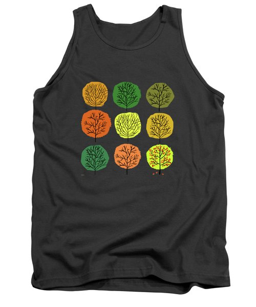 Tidy Trees All In Pretty Rows Tank Top