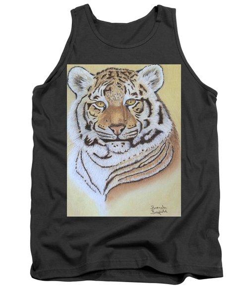 Tiger Tank Top by Brenda Bonfield
