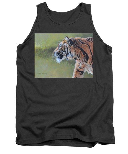 Tiger Portrait Tank Top