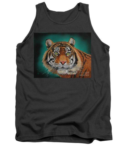 Tiger Portrait......amur Tiger Tank Top