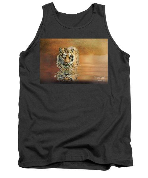 Tiger Reflections Tank Top