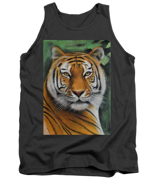 Tiger - The Heart Of India Tank Top by Vishvesh Tadsare
