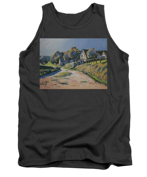 Timbered Houses In Terziet Tank Top