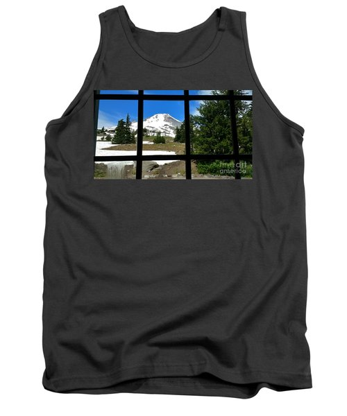 Timberline Lodge View Tank Top