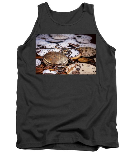 Tank Top featuring the photograph Time Pieces by Tom Mc Nemar