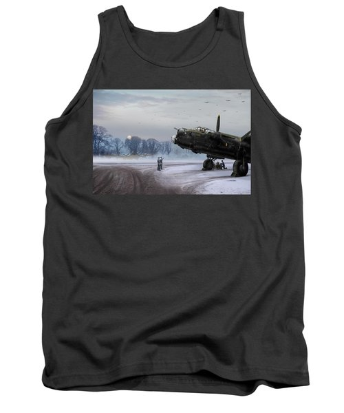 Time To Go - Lancasters On Dispersal Tank Top