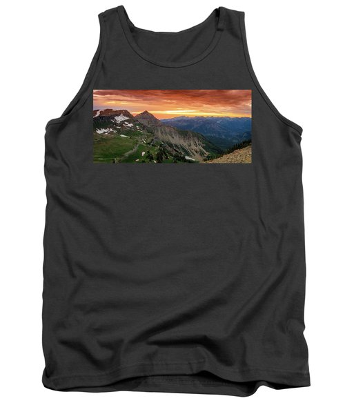 Timp Sunset Panorama Tank Top