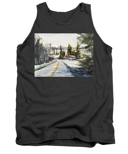Tin Roof Rusted Tank Top by Judith Levins