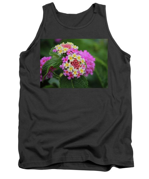 Tank Top featuring the photograph Tiny Bouquets by Rowana Ray