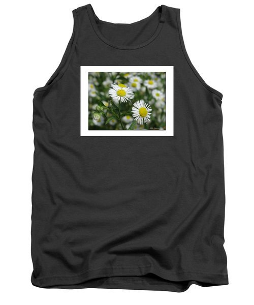 Tiny Flowers Tank Top by Mikki Cucuzzo