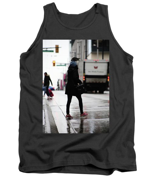 Tank Top featuring the photograph Tiny Umbrella  by Empty Wall