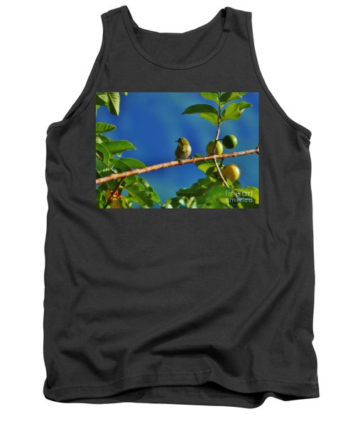 Tiny White Eye And Guava Tank Top