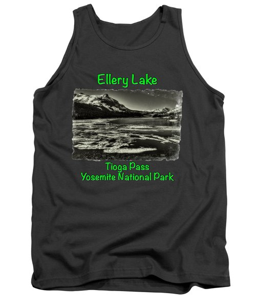Tioga Pass Lake Ellery Early Summer Tank Top by Roger Passman