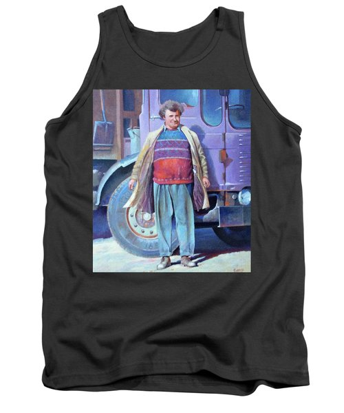 Tank Top featuring the painting Tipperman 1970. by Mike Jeffries