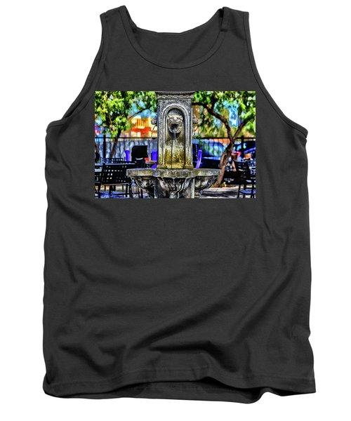 Tipsy Tank Top by Michael Rogers