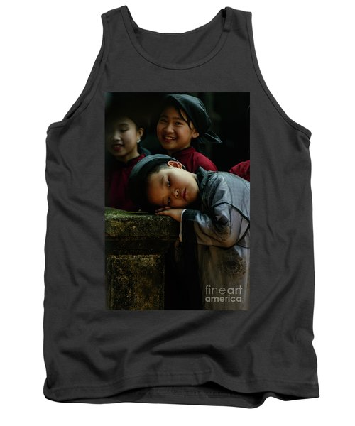 Tired Actor Tank Top by Werner Padarin