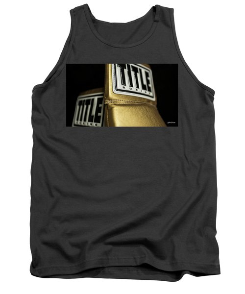 Title Boxing Gloves Tank Top