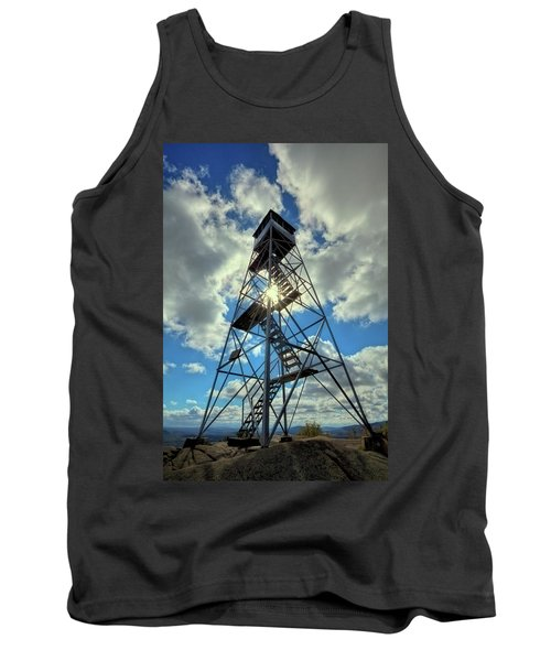 To Climb Or Not To Climb Tank Top by David Patterson