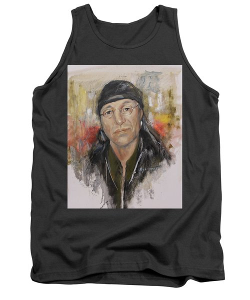 To Honor John Trudell Tank Top by Synnove Pettersen