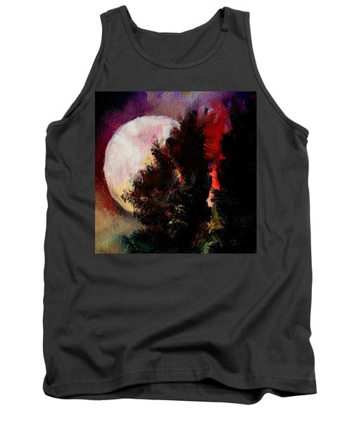 To The Moon And Back Tank Top by Michele Carter