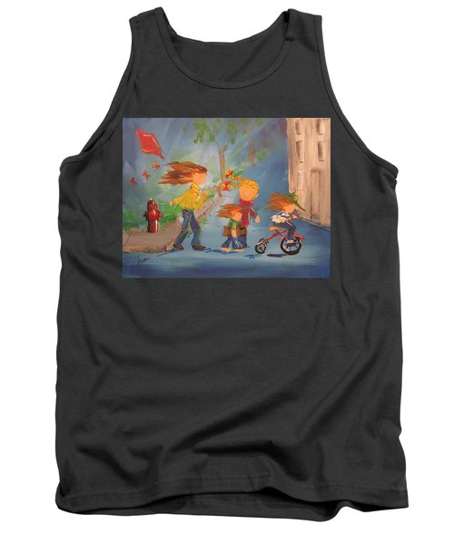 To The Park Tank Top by Terri Einer