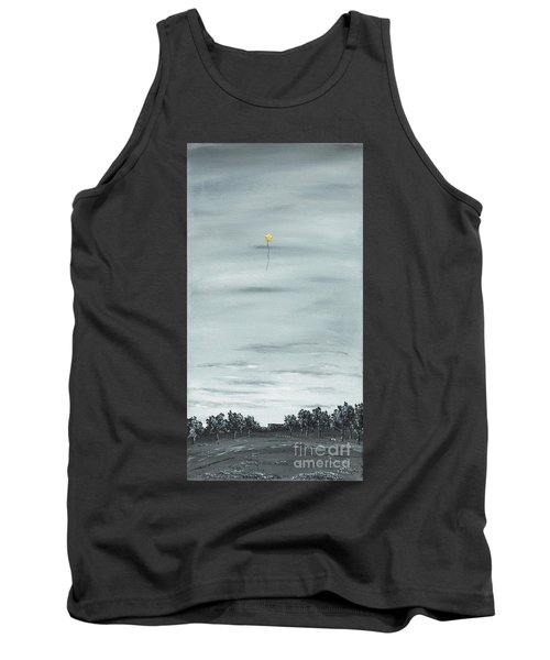 Tank Top featuring the painting To The Stars by Kenneth Clarke