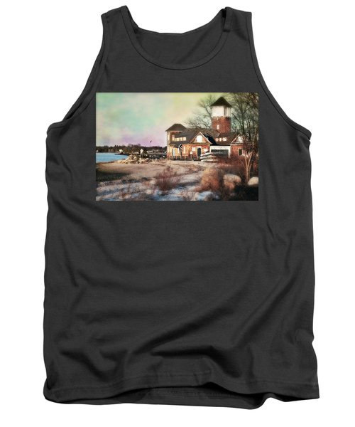 Tod's Point Beach House Tank Top by Diana Angstadt